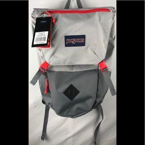 NWT JanSport Pike 24L Backpack in Bayonet Grey